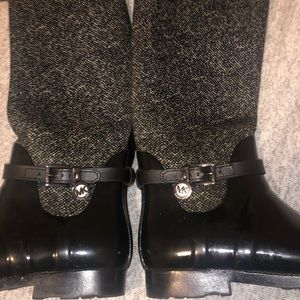 Michael Kors Shoes - Michael Kors rain boots paid 220 size 6 woman
